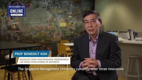 Finance - Information Session - Prof Benedict Koh