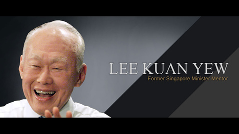 Thumbnail for entry Speaker: Mr Lee Kuan Yew (5 Feb 2002)