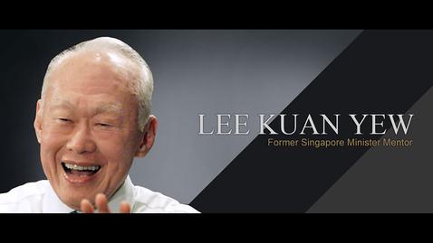Thumbnail for entry Speaker: Mr Lee Kuan Yew (5 Feb 2002)