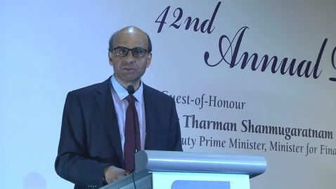 Thumbnail for entry DPM Tharman Shanmugaratnam announcing the launch of AFLP at the ABS Dinner