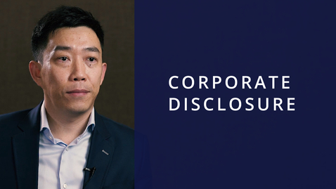 Thumbnail for entry Corporate Disclosure