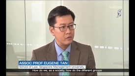 Thumbnail for entry Interview with SMU Associate Professor of Law Eugene Tan - Elected President 2017