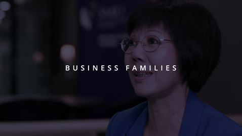 Thumbnail for entry Business Families