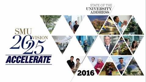 Thumbnail for entry State of University Address - 2016