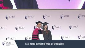 Thumbnail for entry SMU Commencement 2017 - Lee Kong Chian School of Business Undergraduate Ceremony 1