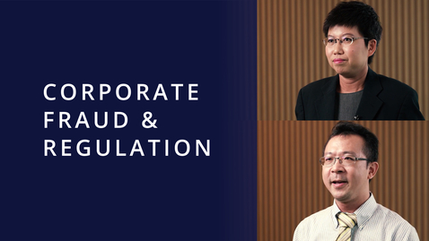 Thumbnail for entry Corporate Fraud & Regulation