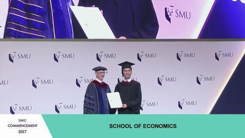 SMU Commencement 2017 - School of Economics Undergraduate Ceremony