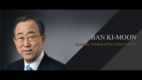 Thumbnail for entry Q&A: Ban Ki-moon (29 Aug 2016)