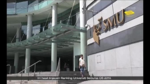 Thumbnail for entry SMU in the Top 50 of the World University Ranking 2019 - Suria (News, 8pm) Feb 27