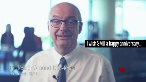 Thumbnail for entry Professor Arnoud De Meyer, SMU President