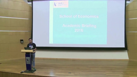 Thumbnail for entry SOE Academic Briefing 2016