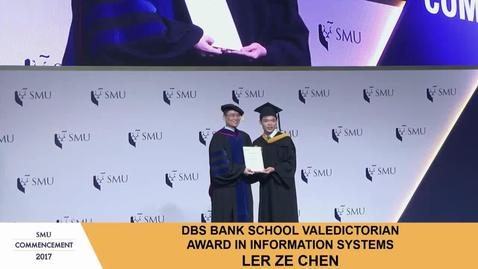 Thumbnail for entry SMU Commencement 2017 - School of Information Systems Undergraduate Ceremony