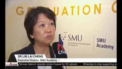 Thumbnail for entry Improving Data Security - SMU to roll out new data protection-related courses next year, CNA (Singapore Tonight, 10pm), Dec 13