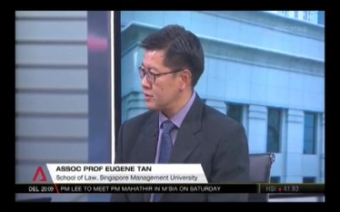 Singapore's future leadership, Channel NewsAsia (Singapore Tonight