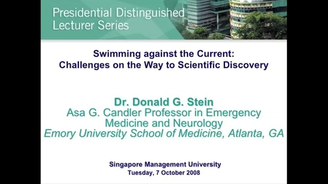 Thumbnail for entry Swimming against the Current: Challenges pn the Way to Scientific Discovery