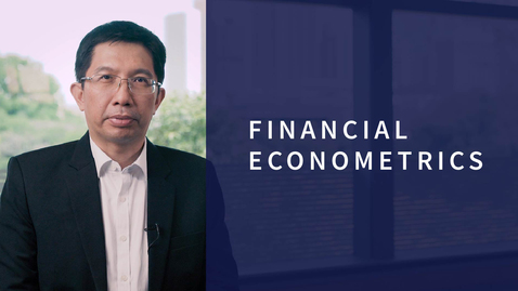 Thumbnail for entry Financial Econometrics