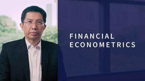 Thumbnail for entry Financial Econometrics