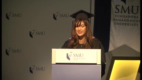 Thumbnail for entry SMU Commencement 2014 Lee Kong Chian School of Business Postgraduate Commencement Ceremony