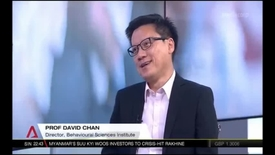 Thumbnail for entry Choices after A-level Examination results - Prof David Chan - Channel NewsAsia, Singapore Tonight, 10pm (Feb 22)