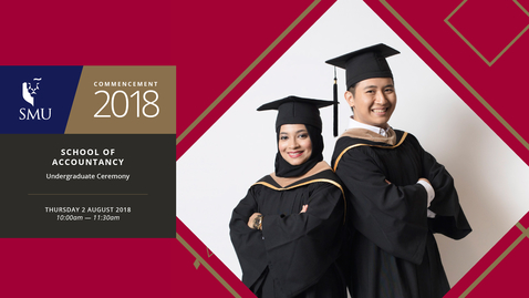 Thumbnail for entry School of Accountancy Undergraduate Ceremony