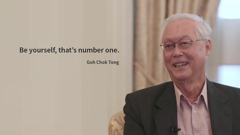 Thumbnail for entry Goh Chok Tong