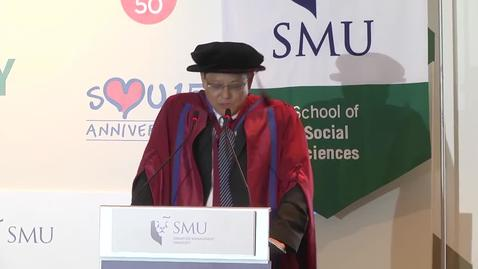 Thumbnail for entry SMU Commencement 2015 - School of Social Sciences Ceremony