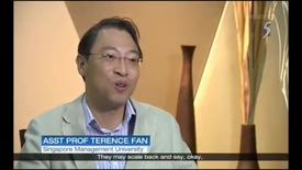 Thumbnail for entry New Changi Airport passenger levy - interview with Assistant Prof Terence Fan, Ch 5, 9pm