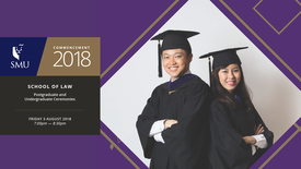 Thumbnail for entry School of Law Postgraduate and Undergraduate Ceremony