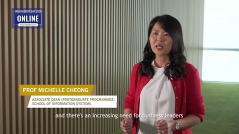 Thumbnail for entry Information Technology - Information Session - Prof Michelle Cheong