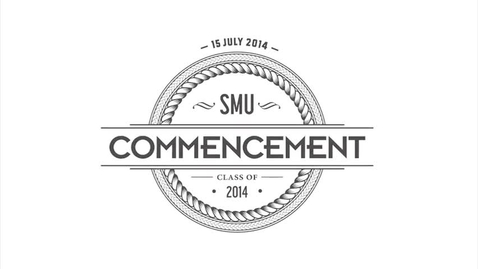 Thumbnail for entry Commencement 2014 - Soundbites from the Ground