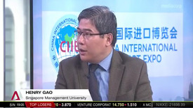 Thumbnail for entry China International Import Expo, Channel NewsAsia (Prime Time, 7pm), 5 Nov 2018