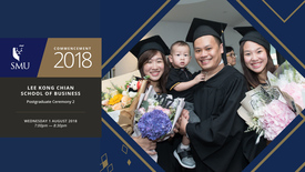 Thumbnail for entry Lee Kong Chian School of Business Postgraduate Ceremony 2