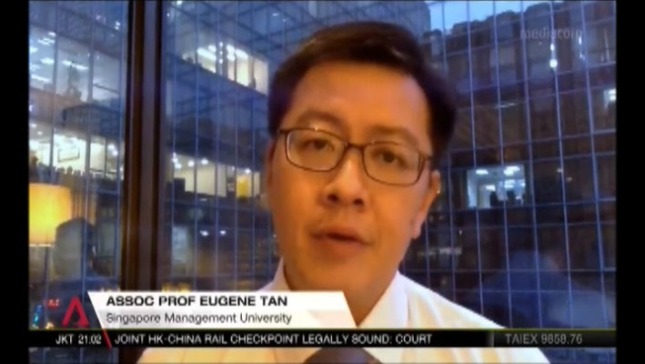Maritime disputes best settled through negotiations, Channel NewsAsia (Singapore Tonight, 10pm),  13 December 2018