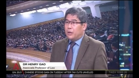 Thumbnail for entry China's National People's Congress - Prof Henry Gao, CNA