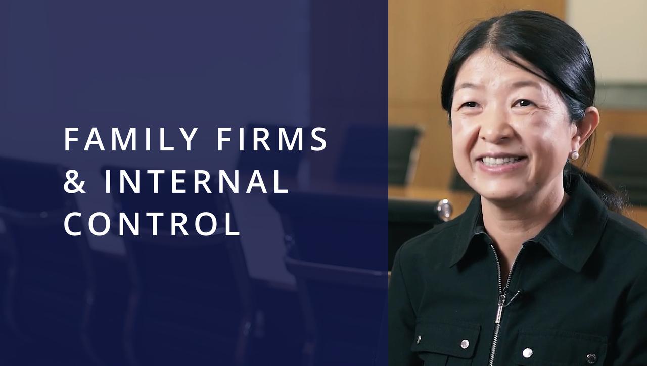 Family Firms & Internal Control