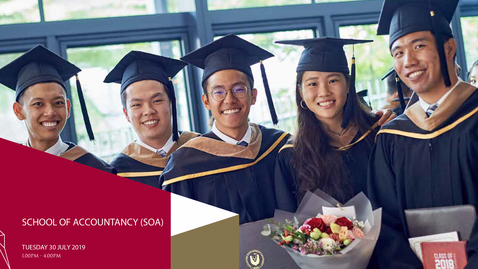 Thumbnail for entry School of Accountancy Undergraduate Ceremony 2019