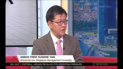 Singapore Budget 2018 - interview with Prof Eugene Tan, Channel News