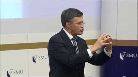Thumbnail for entry SMU PDLS: Prof Jan Peter Balkenende (Part 1) | Lecture on 11 Sep 2017