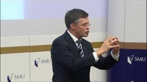 Thumbnail for entry SMU PDLS: Prof Jan Peter Balkenende (Part 1) | Lecture on 11 Sep 2017