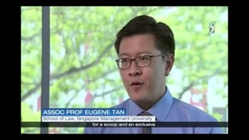 Thumbnail for entry Breaches of Official Secrets Act - Interview with SMU Associate Professor of Law Eugene Tan, Channel 5 (News 5 Tonight,  9pm), 20 Dec 2017