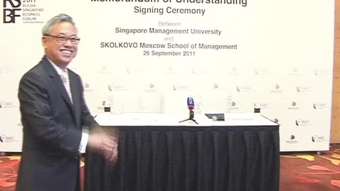 Thumbnail for entry SMU and SKOLKOVO Moscow MOU