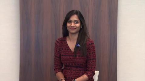 Thumbnail for entry The SMU MBA Experience - Aamani Reddy Kanathala (English)