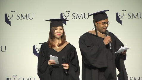 Thumbnail for entry SMU Commencement 2016 – Lee Kong Chian School of Business Ceremony 2
