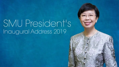 Thumbnail for entry SMU President's Inaugural Address 2019