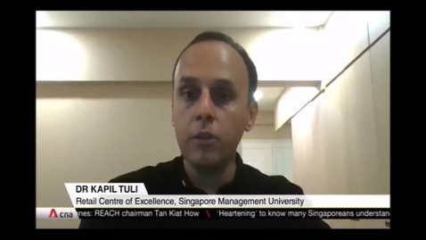 Thumbnail for entry Virtual platform GoSpree set to be rolled out year-round after e-Great Singapore Sale, CNA (Singapore Tonight, 10pm) Oct 10
