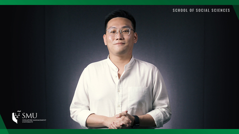 Thumbnail for entry School of Social Sciences - Political Science Graduate Darren Yeo