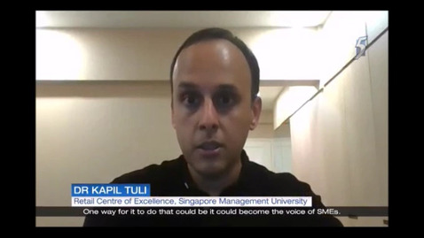 Thumbnail for entry Virtual platform GoSpree set to be rolled out year-round after e-Great Singapore Sale, Channel 5 (News 5 Tonight, 9pm) Oct 10