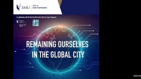 Thumbnail for entry REMAINING OURSELVES IN THE GLOBAL CITY