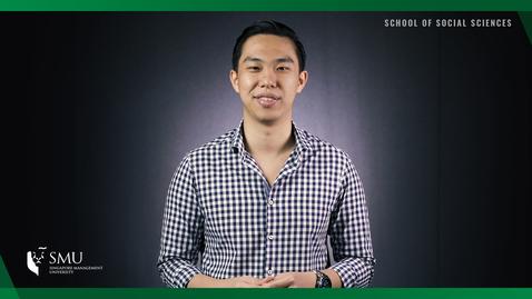 Thumbnail for entry School of Social Sciences - SOSCIETY Clarence Ng