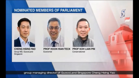 Thumbnail for entry Nine new Nominated Members of Parliament to be appointed, Channel 5 (News 5 Tonight, 9pm), Jan 14